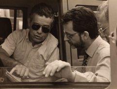 Orbetello, 15/6/1996. Con il Comandante dei VVF durante l'incendio della fabbrica di esplosivi Sipe Nobel
